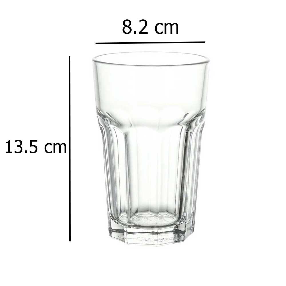 Glass clear glass 35 cl POKAL متجر 15 وأقل