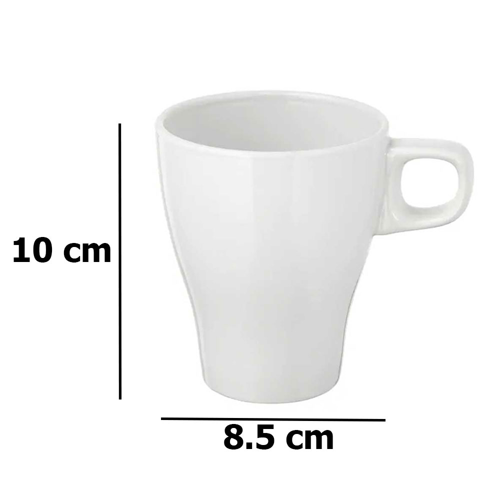White mug 250ml FÄRGRIK متجر 15 وأقل