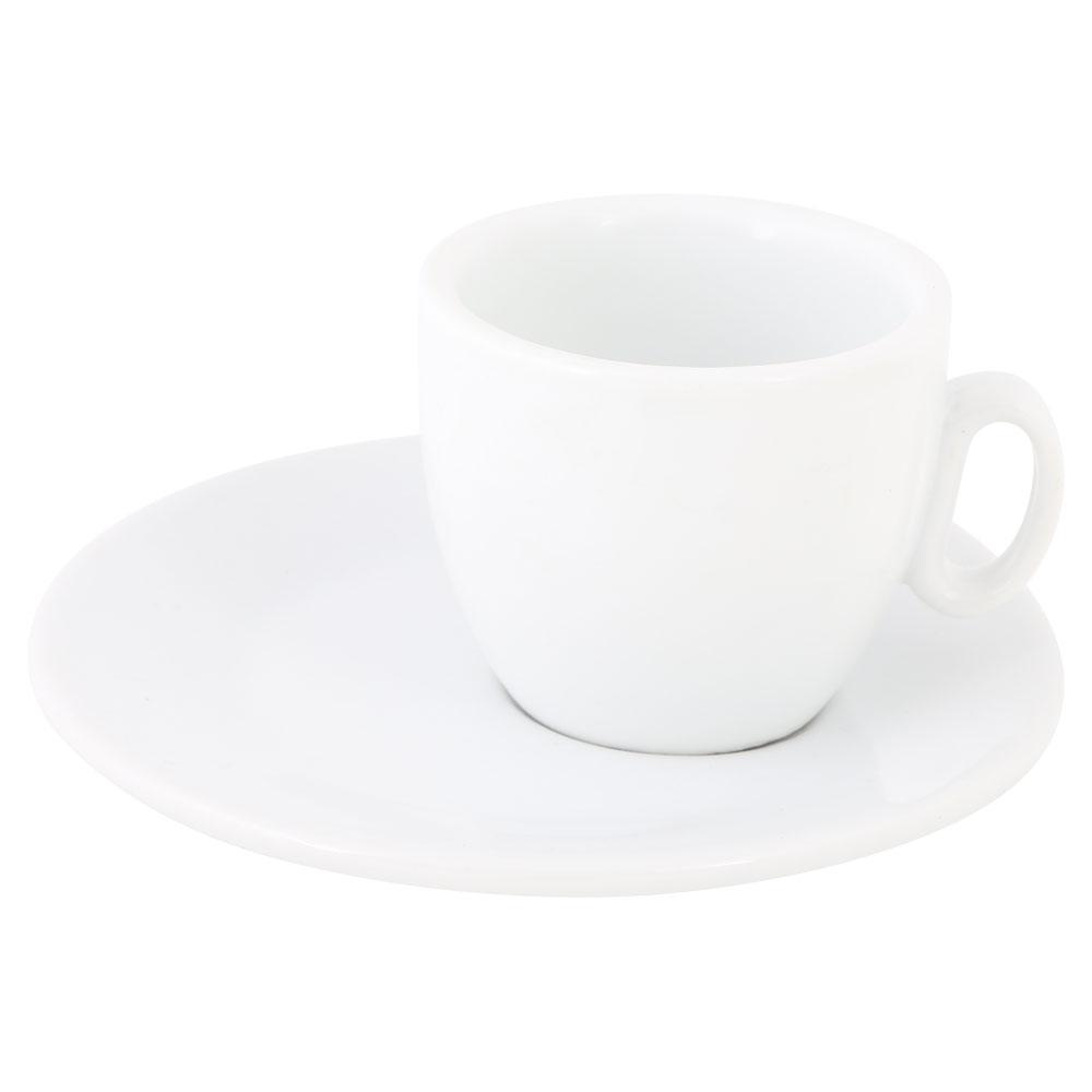 كوب قهوة تركي سيراميك ابيض مع صحن متجر 15 وأقل