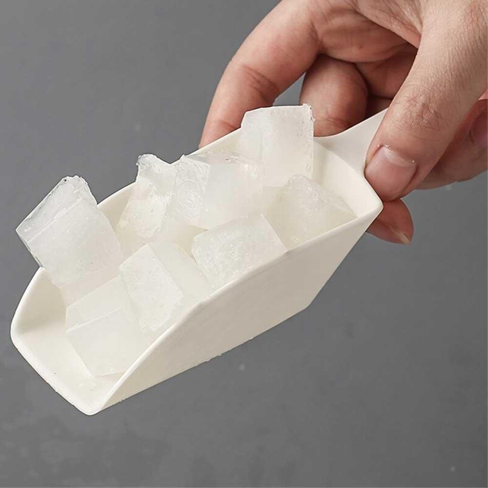 قالب مكعبات الثلج مع حافظة لون أبيض متجر 15 وأقل