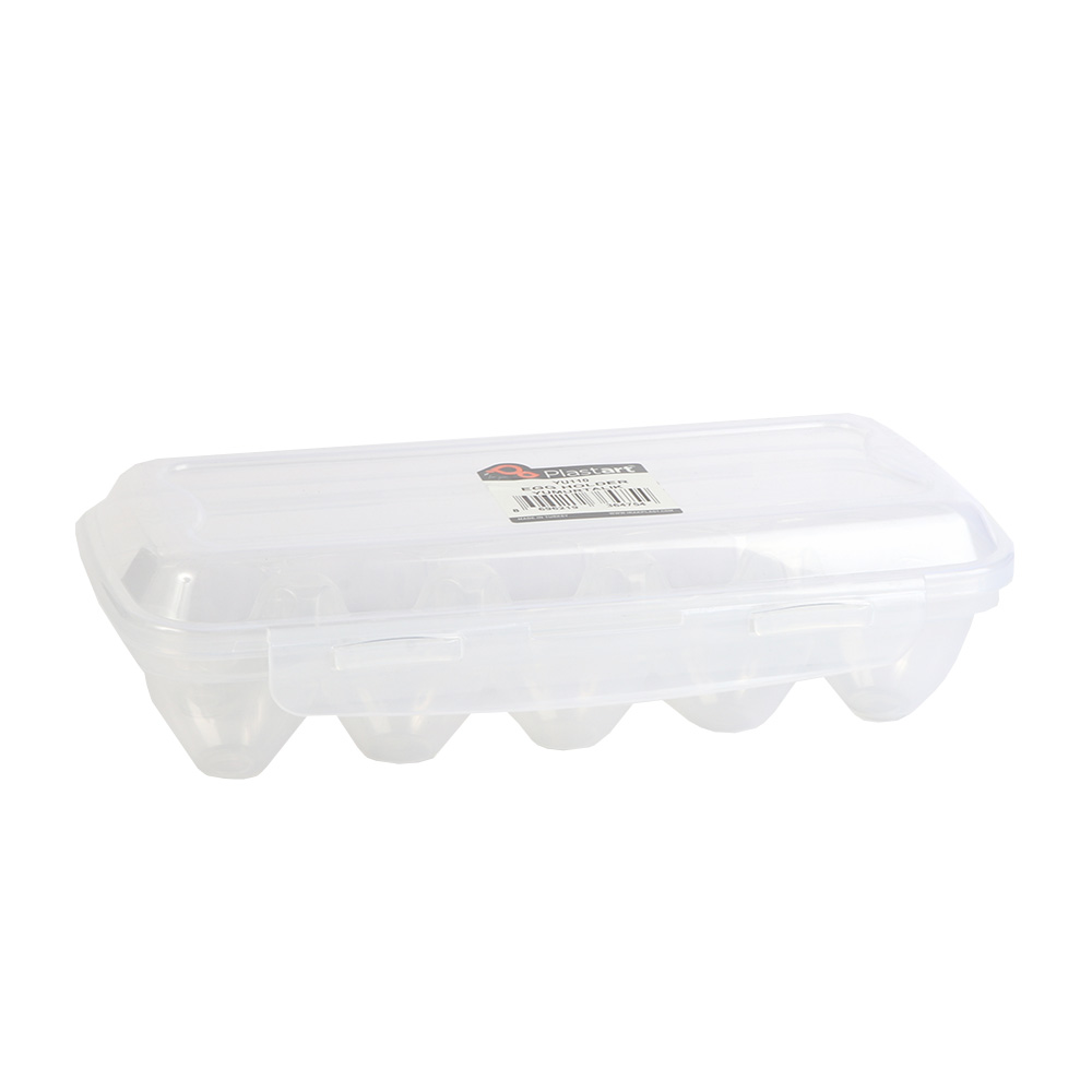 Transparent Plastic Egg Holder With Cover متجر 15 وأقل