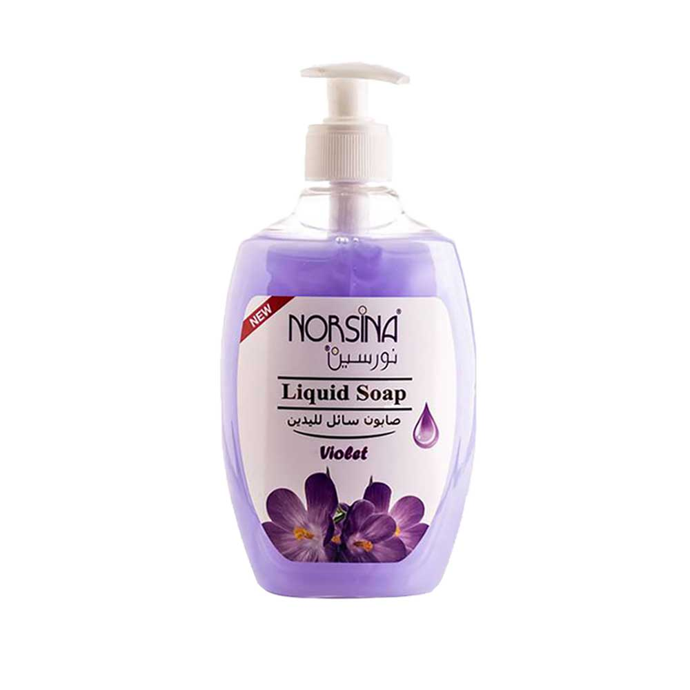 Hand washing soap 400 ml with the scent of violet متجر 15 وأقل