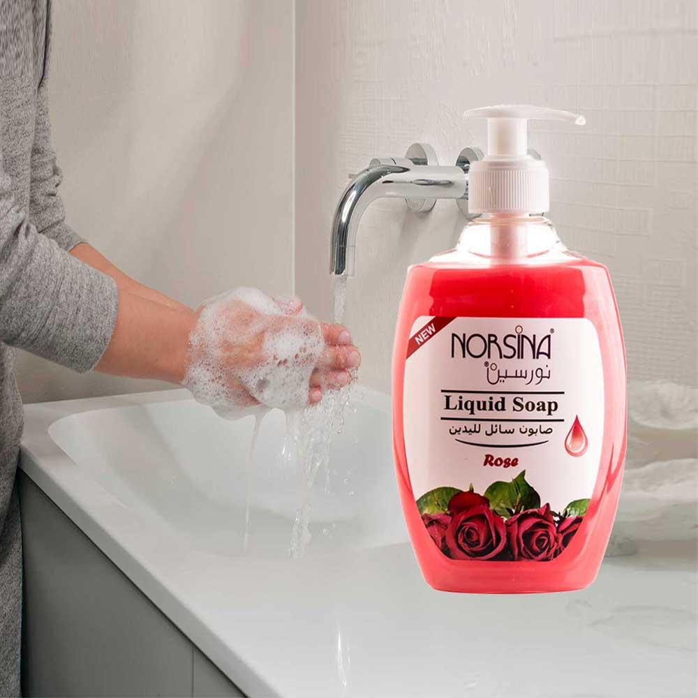 صابون غسل اليدين 400 مل برائحة الروز متجر 15 وأقل