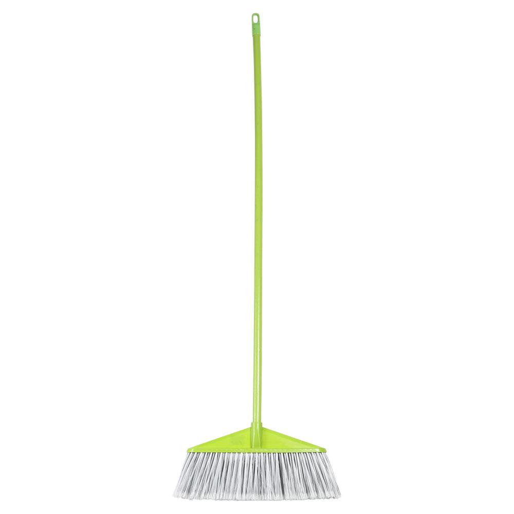 مكنسة بعصا لتنظيف الأرضية أخضر 120 سم متجر 15 وأقل