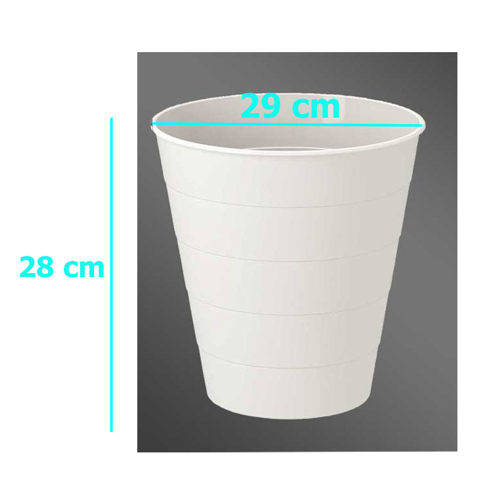 plastic waste bin 10 liter 28 cm متجر 15 وأقل