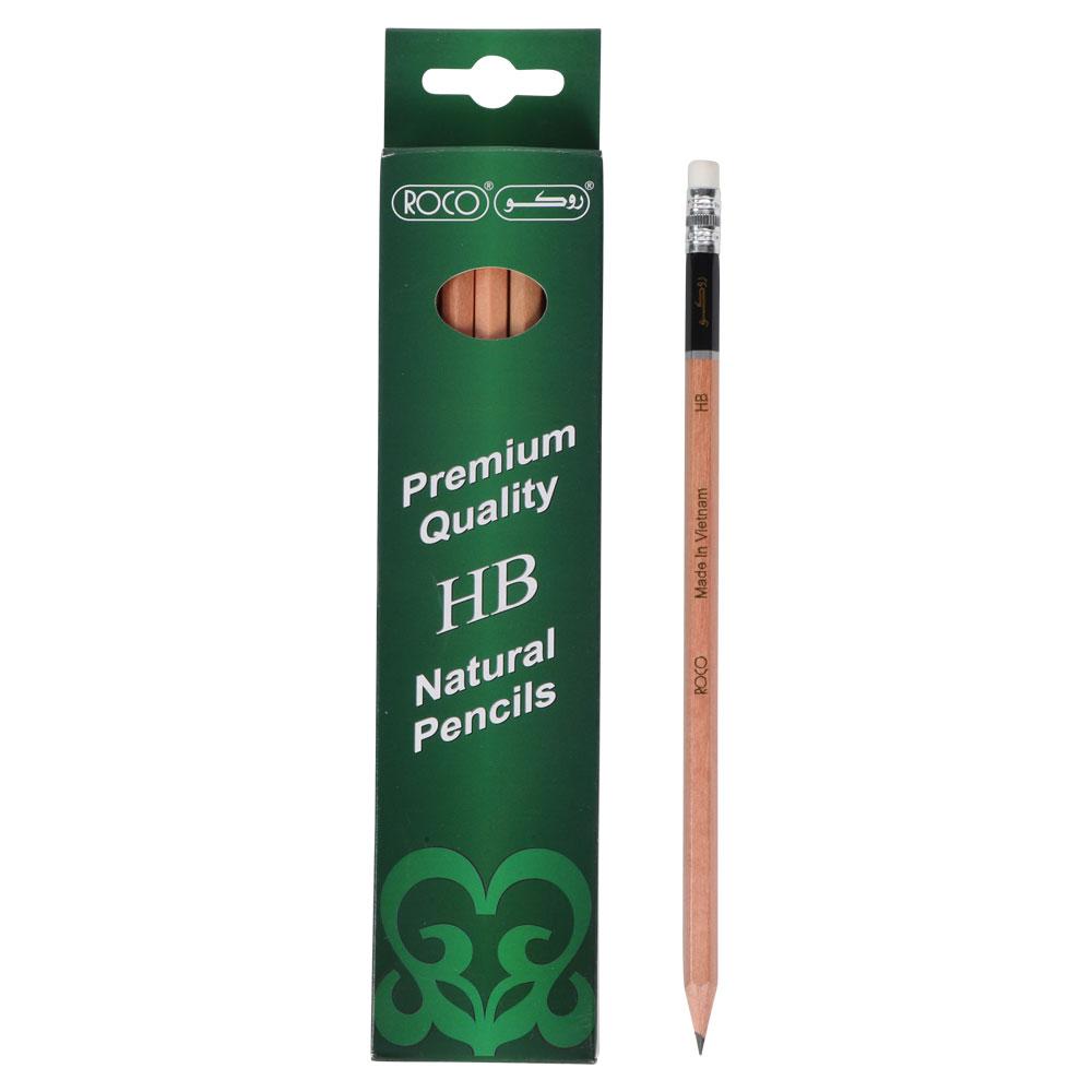روكو مرا سم خشبية عالية الجودة 12 قلم HB متجر 15 وأقل