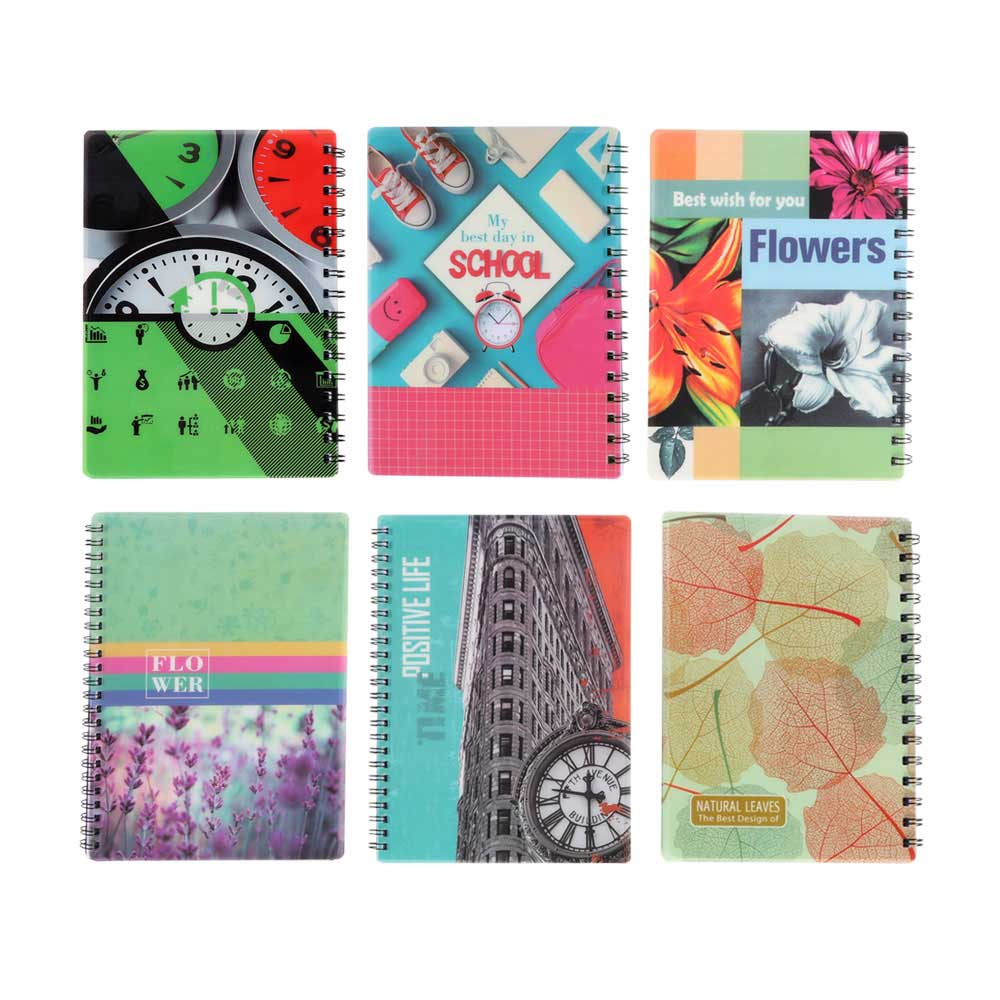Deco english wire notebook 100 sheets متجر 15 وأقل