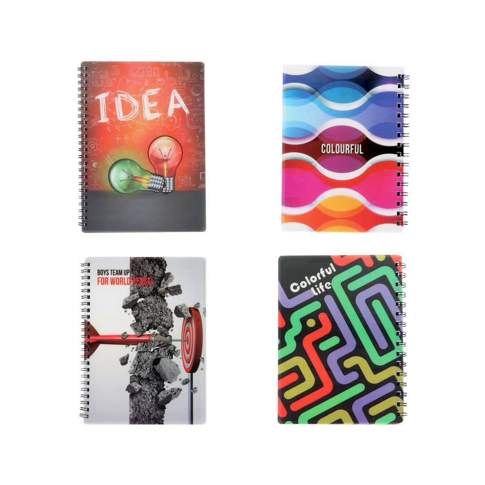 Deco English wire notebook 40 sheets متجر 15 وأقل