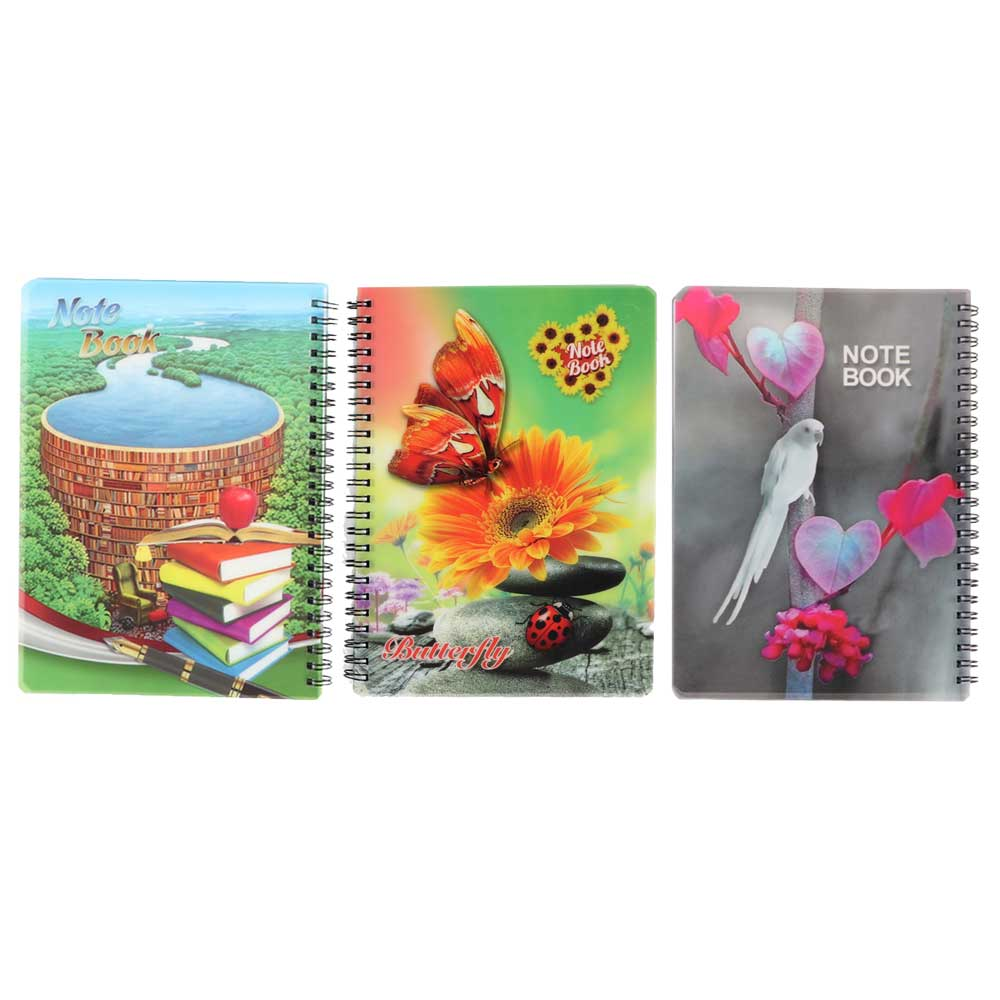 Deco English wire notebook 60 sheets متجر 15 وأقل