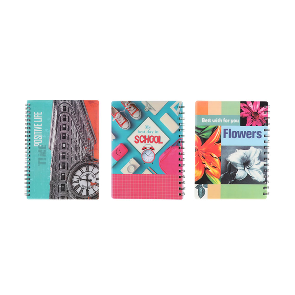 Deco English wire notebook 80 sheets متجر 15 وأقل