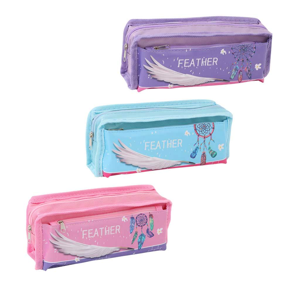 Noble school pencil case quill for girls متجر 15 وأقل