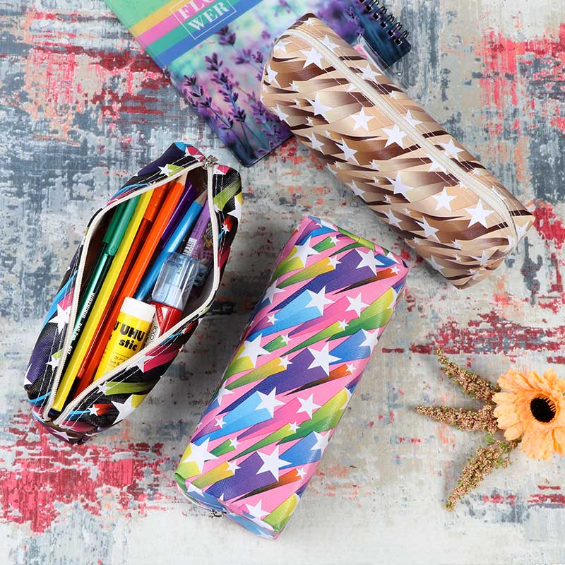 Noble school pencil case stars for girls متجر 15 وأقل