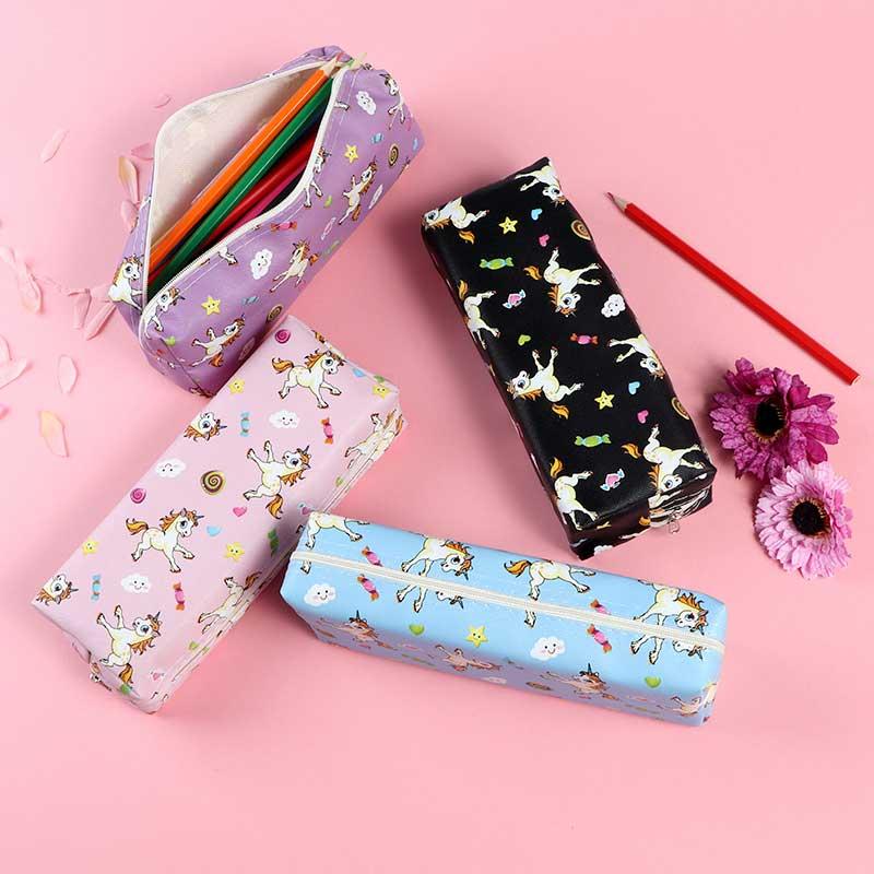 school pencil case unicorn for girls متجر 15 وأقل
