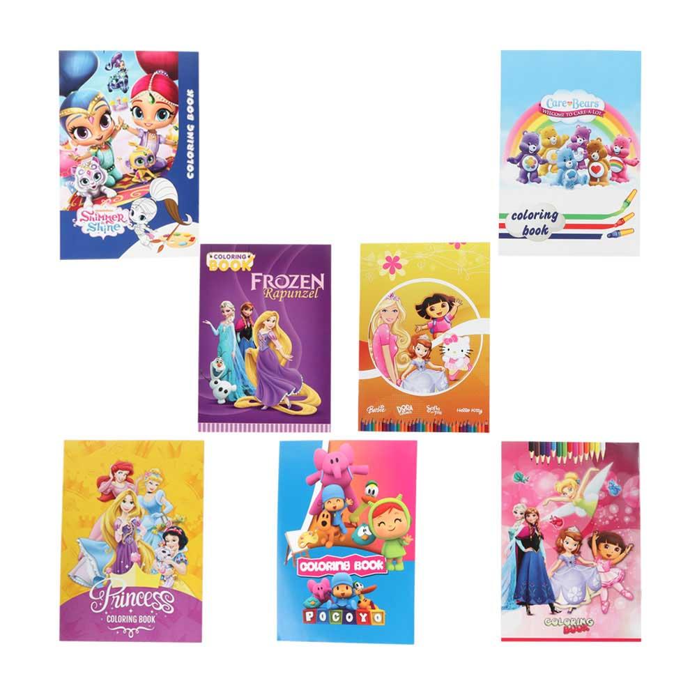 دفتر تلوين شخصيات كرتونية للأطفال متجر 15 وأقل