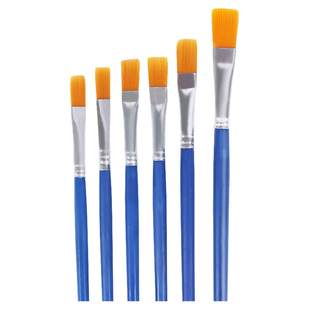 Noble a set of paint brushes in various sizes 12 pcs متجر 15 وأقل