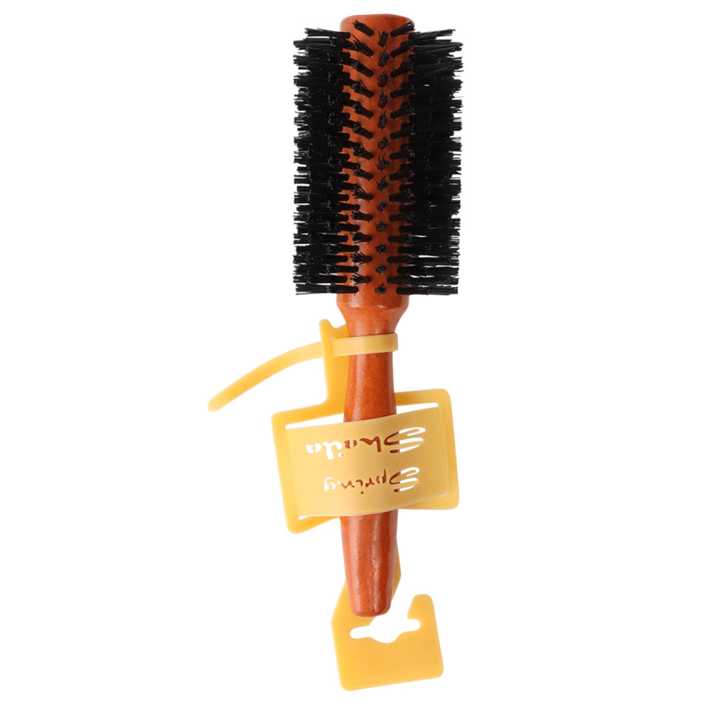 Round wooden brush for hair dryer size 2 متجر 15 وأقل