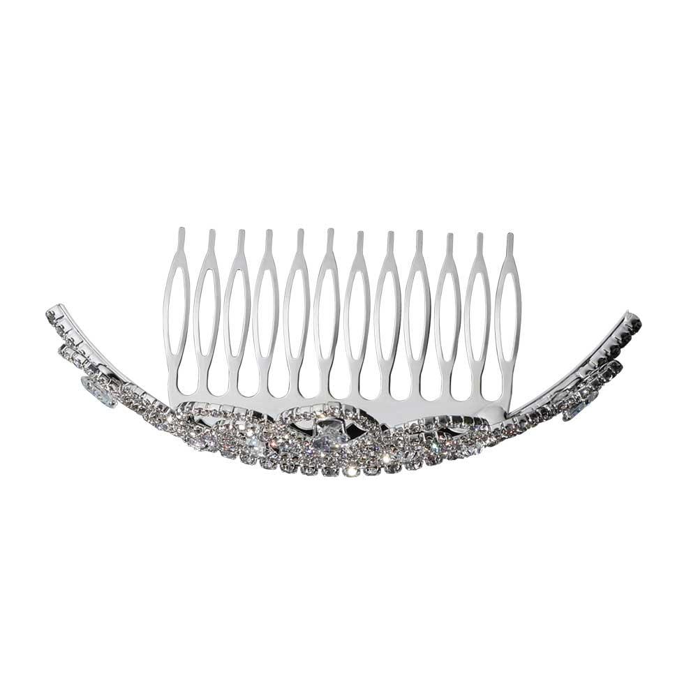 Girls' hair tiara with zircon lobes متجر 15 وأقل