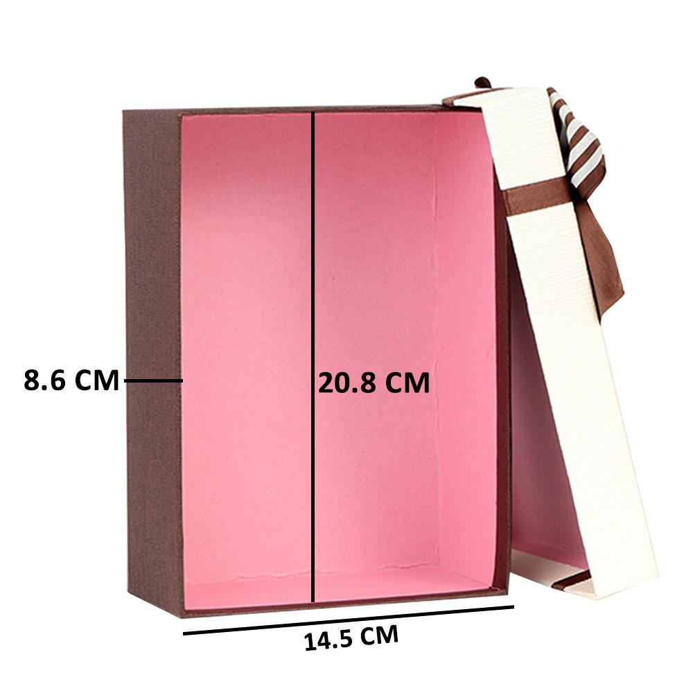 Medium bow ribbon gift box متجر 15 وأقل