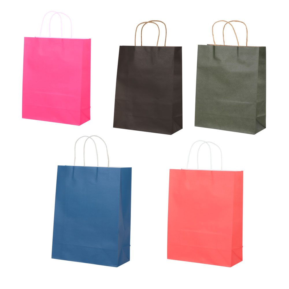Noble Large Plain Color Paper Gift Bags متجر 15 وأقل