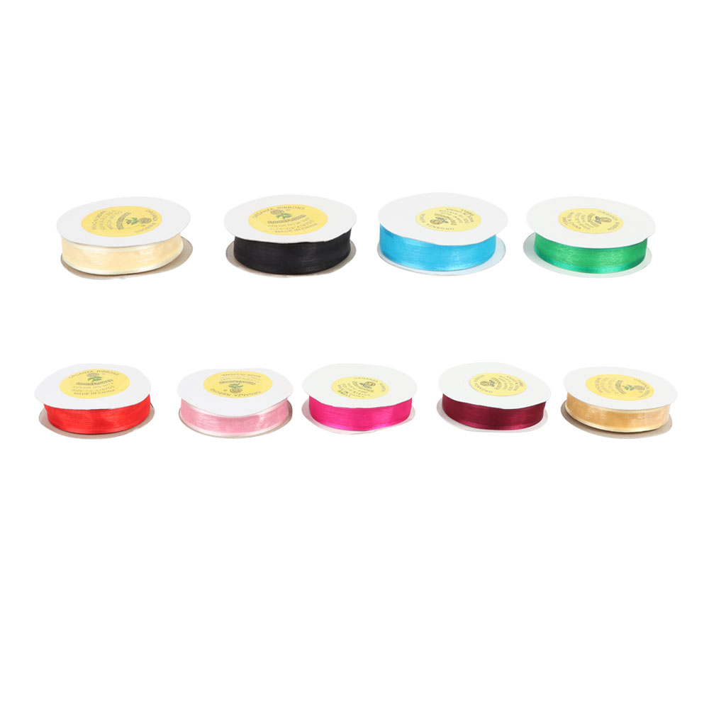 Cloth ribbon for gift wrapping 2.5 cm متجر 15 وأقل