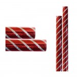 Red Striped Silver