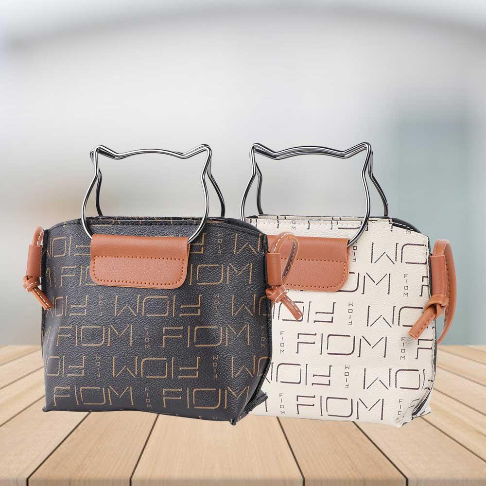 Leather handbag for women with shoulder strap Model 3 متجر 15 وأقل