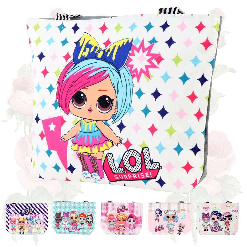 حقيبة قماشية بناتي بر سمة LOL متجر 15 وأقل