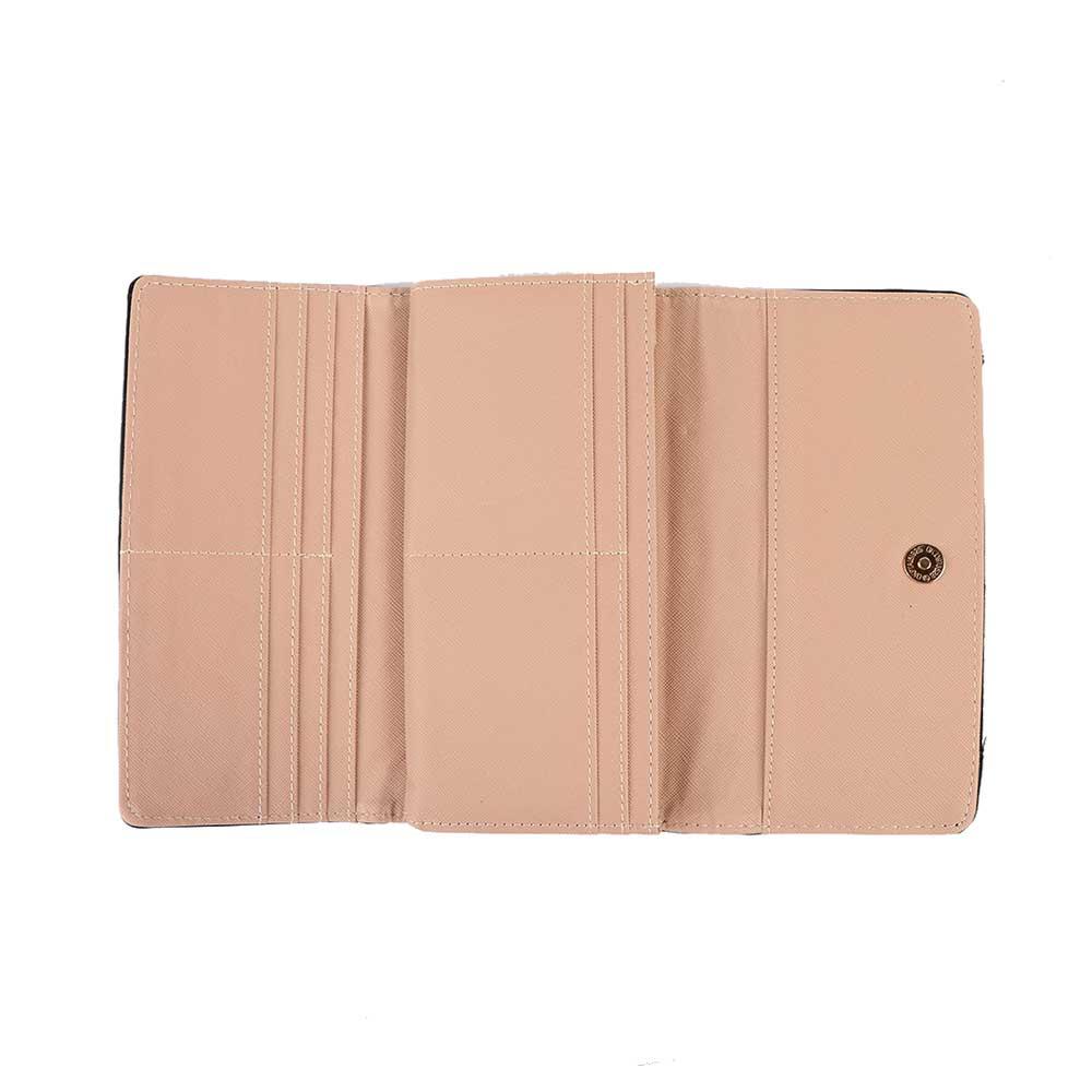 Leather wallet for women 10 * 19 cm model 2 متجر 15 وأقل