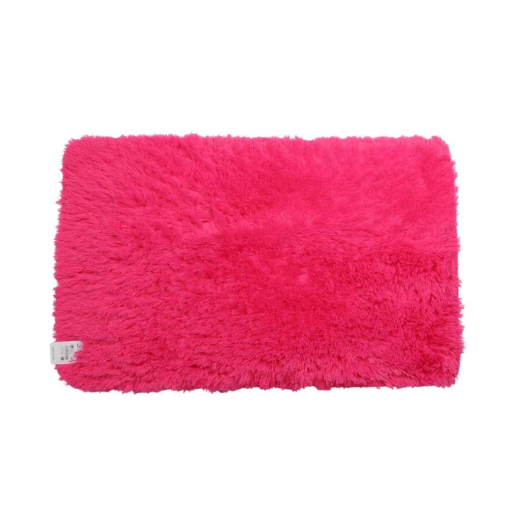 Fur Mats Size 80 x 50 cm - Color Pink متجر 15 وأقل