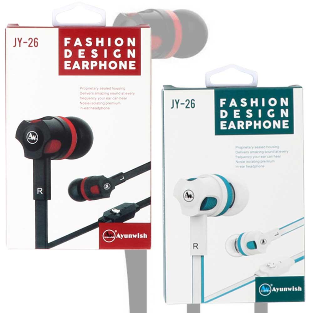 Fashion headphones jy 26 multicolor متجر 15 وأقل