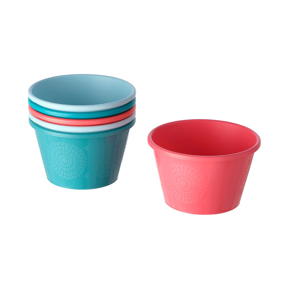 Bowl mixed colours 13 cm UTEFEST متجر 15 وأقل
