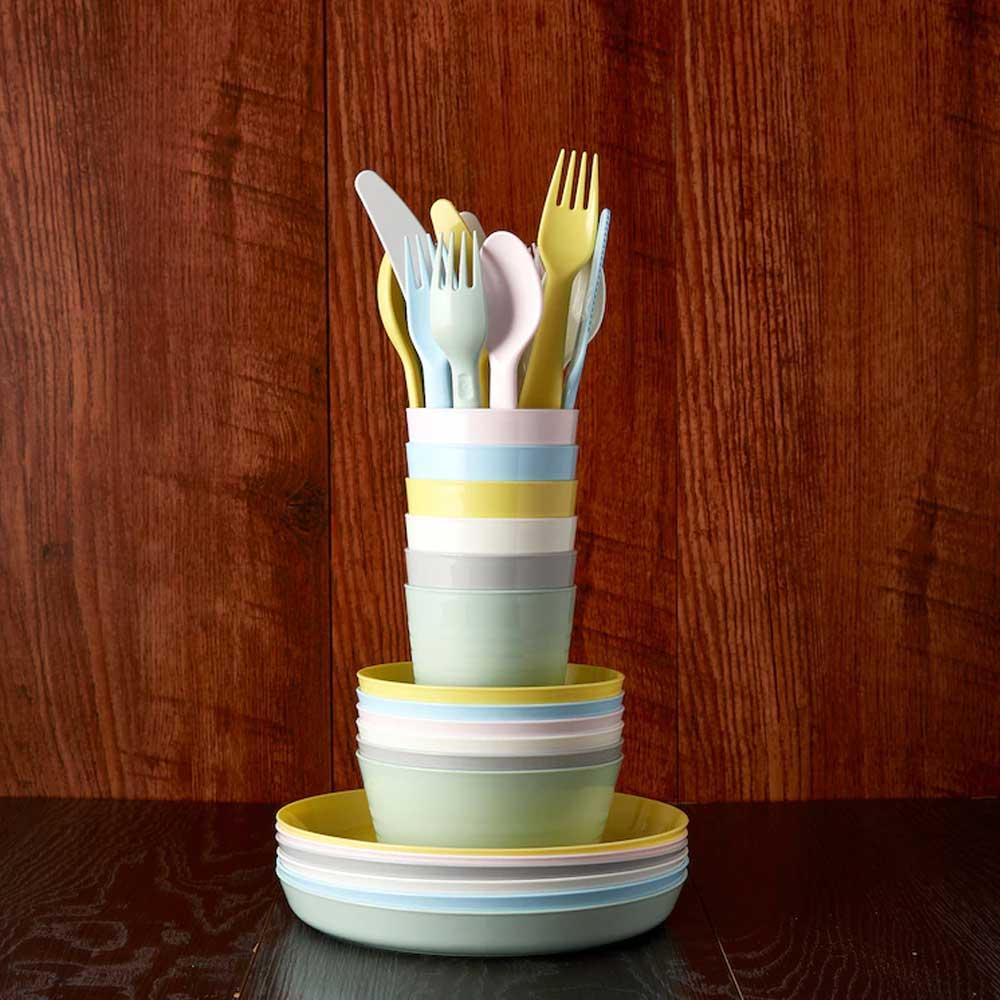 Flexible plastic cup light mixed colors KALAS متجر 15 وأقل