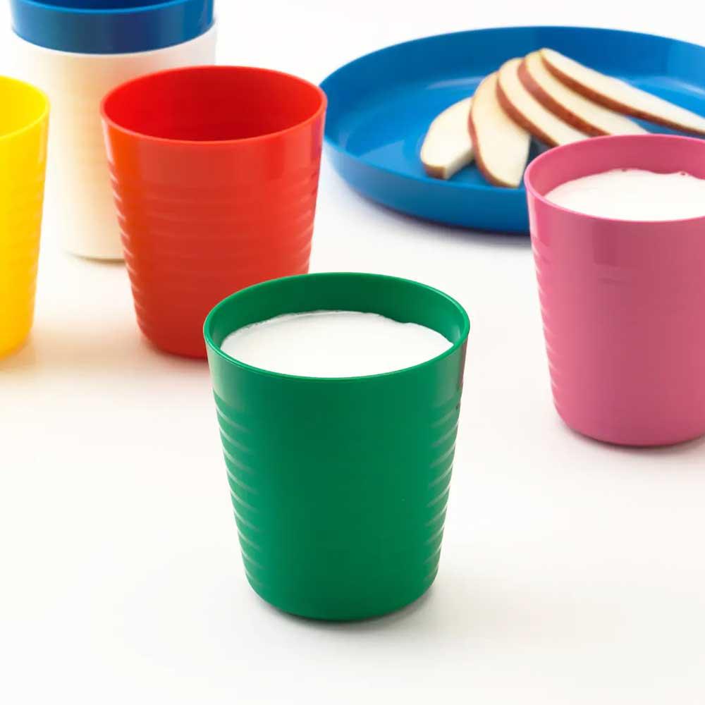 Mixed color flexible plastic cup KALAS متجر 15 وأقل