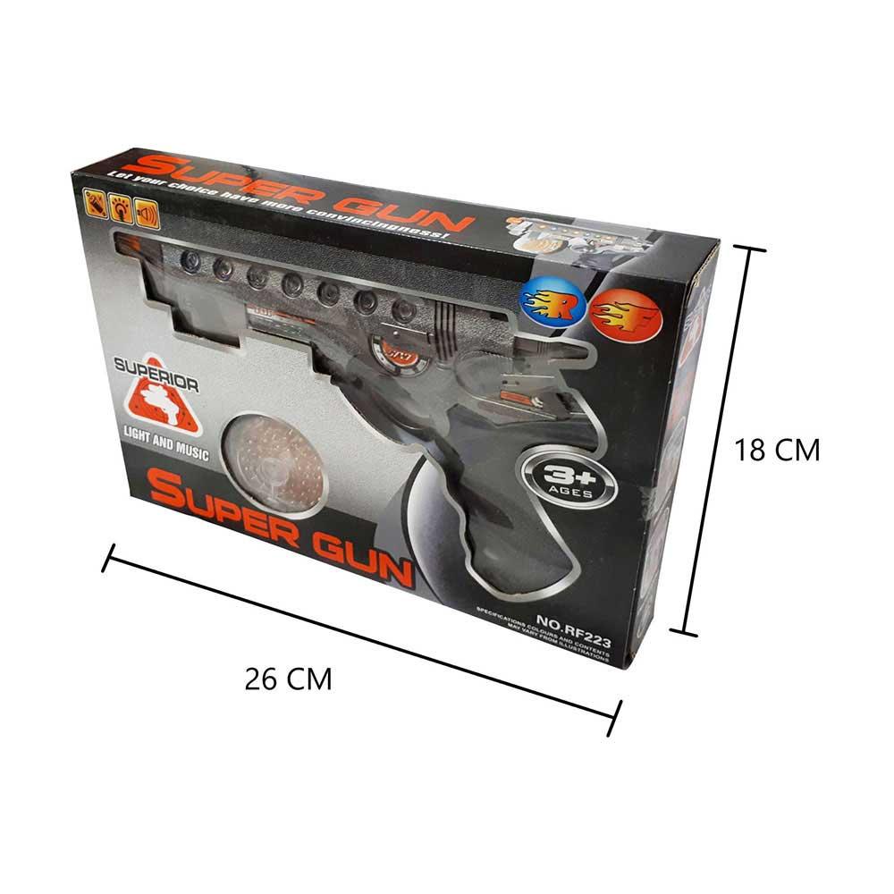 تشيلد توي مسدس سوبر بمؤثرات صوتية و ضوئية متجر 15 وأقل