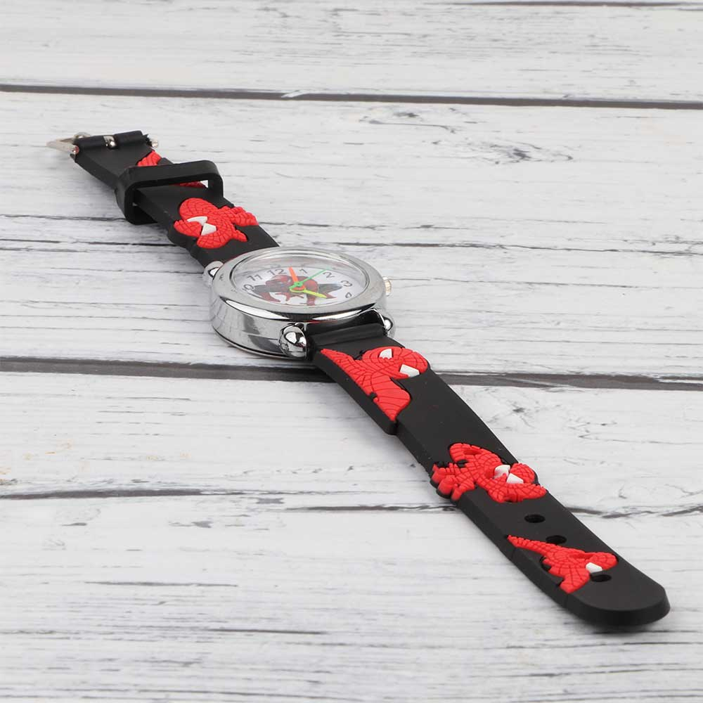 3D Silicon Watch for Kids Spiderman متجر 15 وأقل