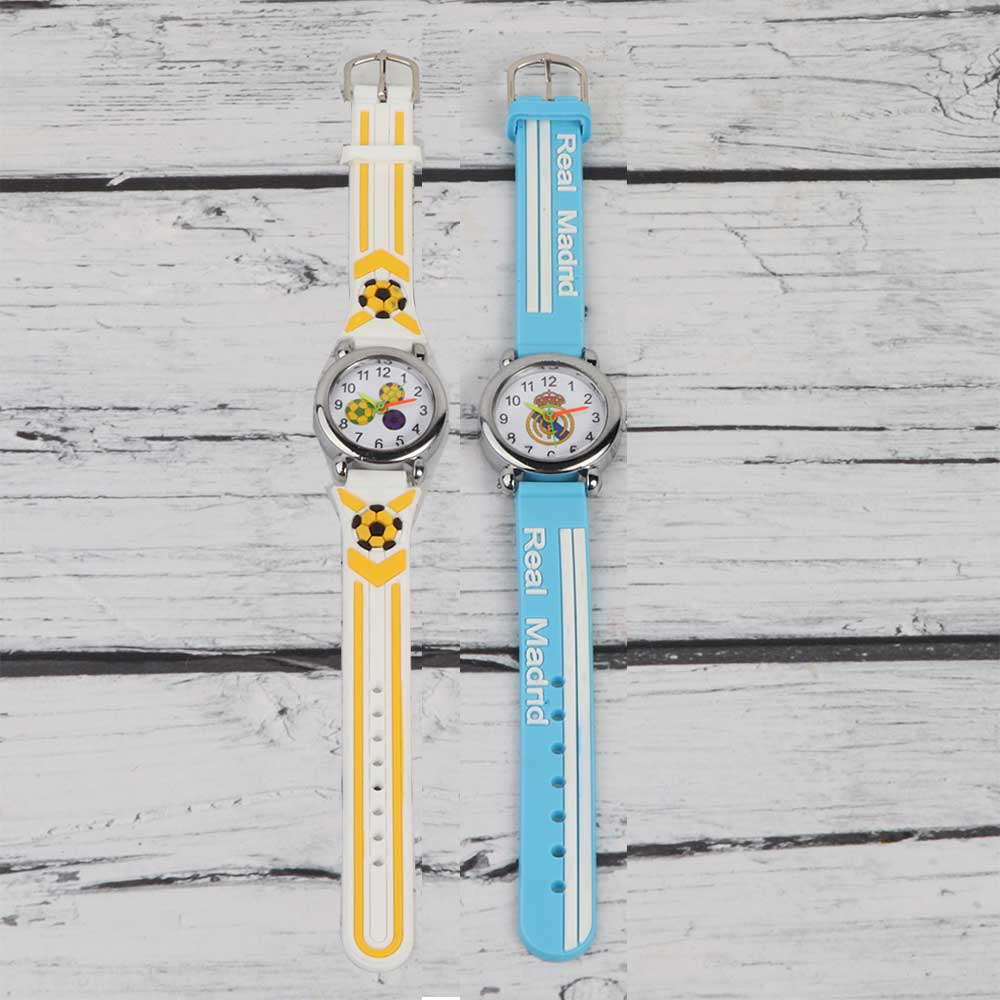 3D Silicon Watch for Kids Football متجر 15 وأقل
