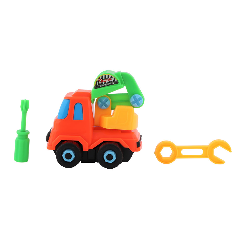 Child Toy Set of 3 different construction trucks vehicles for children متجر 15 وأقل
