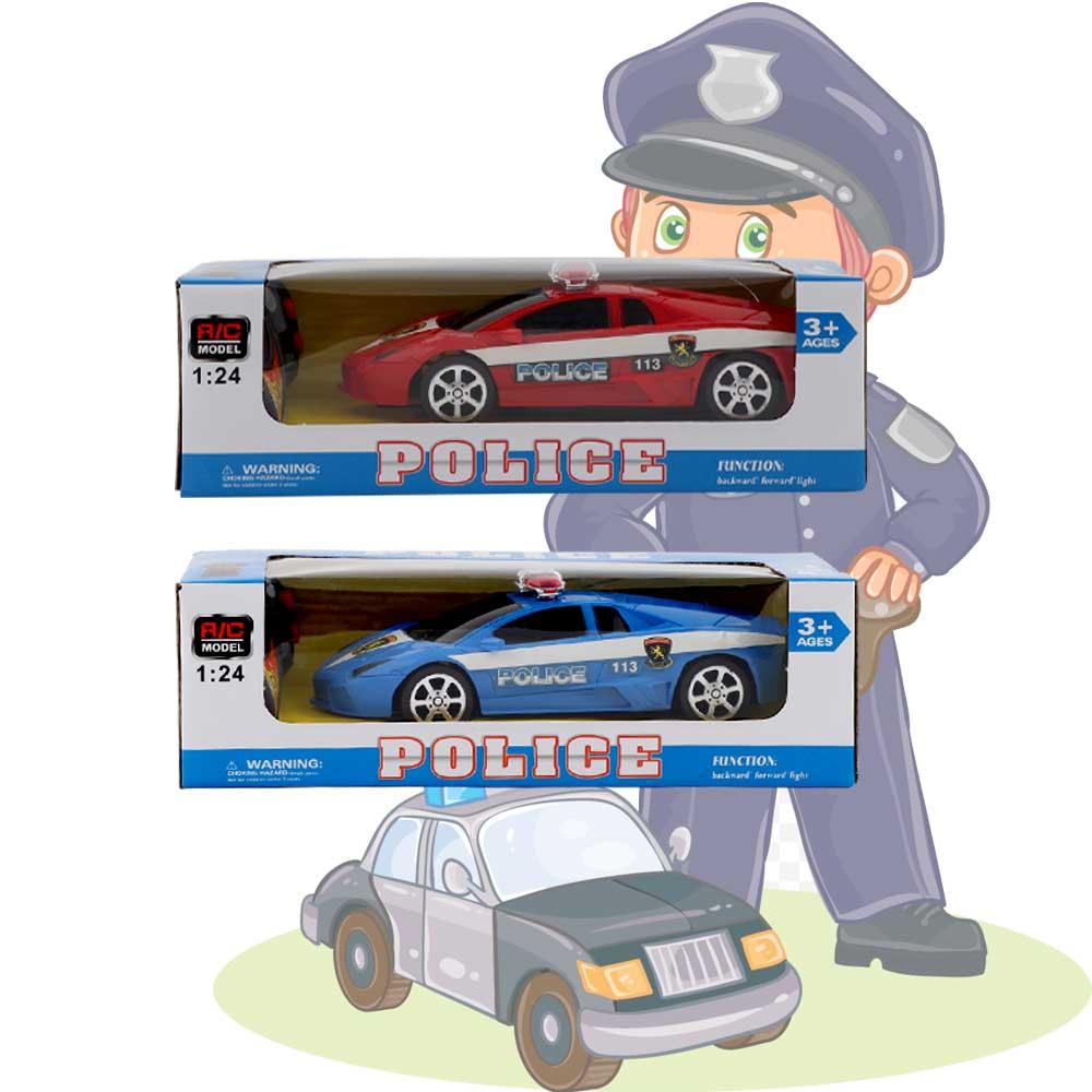 تشيلد توي سيارة شرطة صغيرة بالريموت متجر 15 وأقل