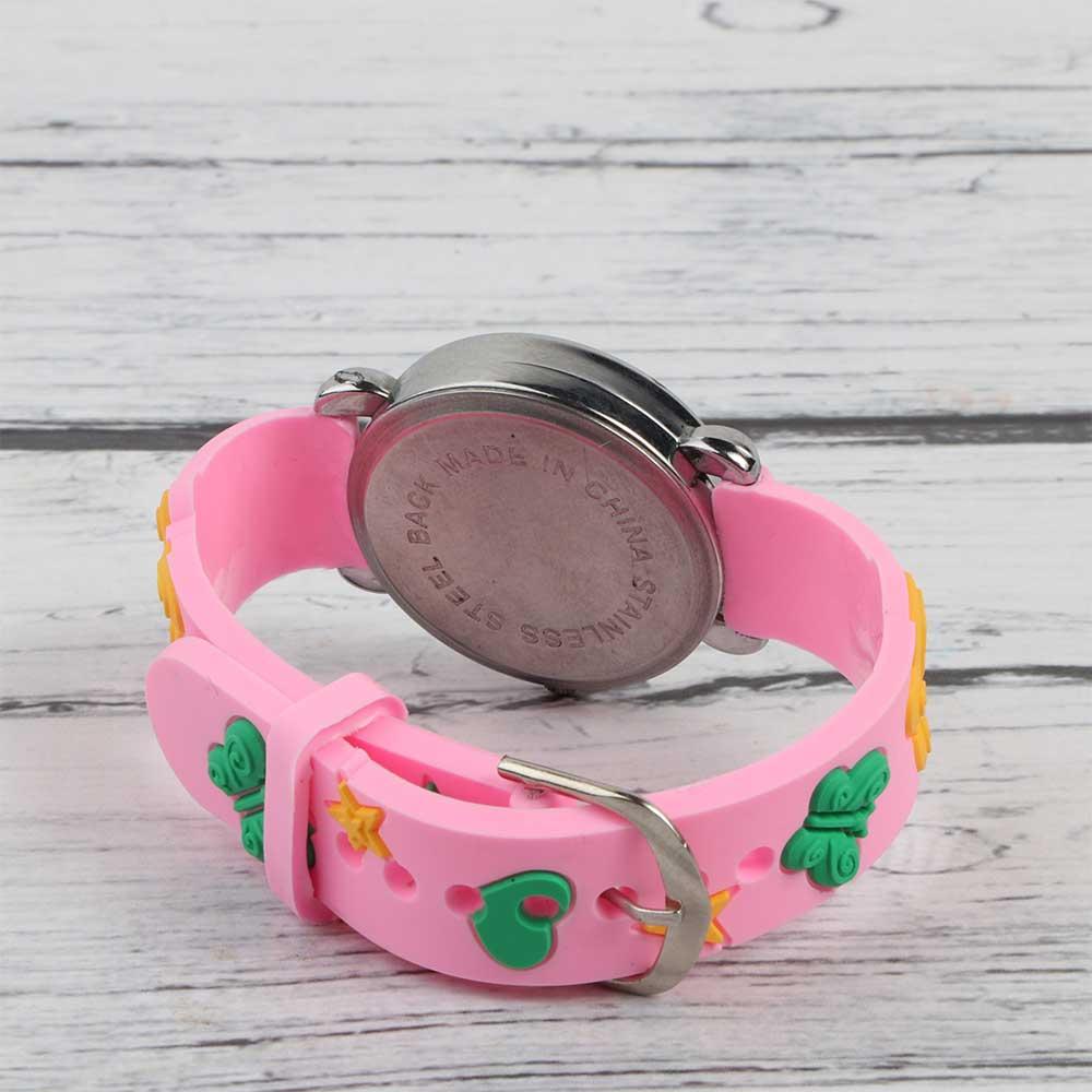 ساعة يد سيليكون3D للأطفال فراشات متجر 15 وأقل