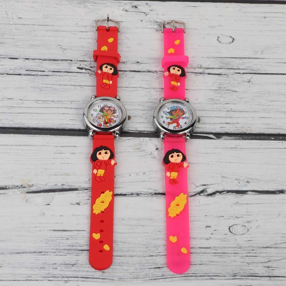 3D Silicon Watch for Kids Dora متجر 15 وأقل