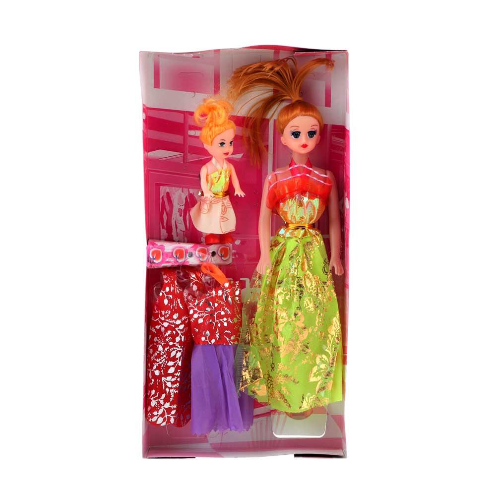 عروسة باربي طقم بألوان متنوعة متجر 15 وأقل