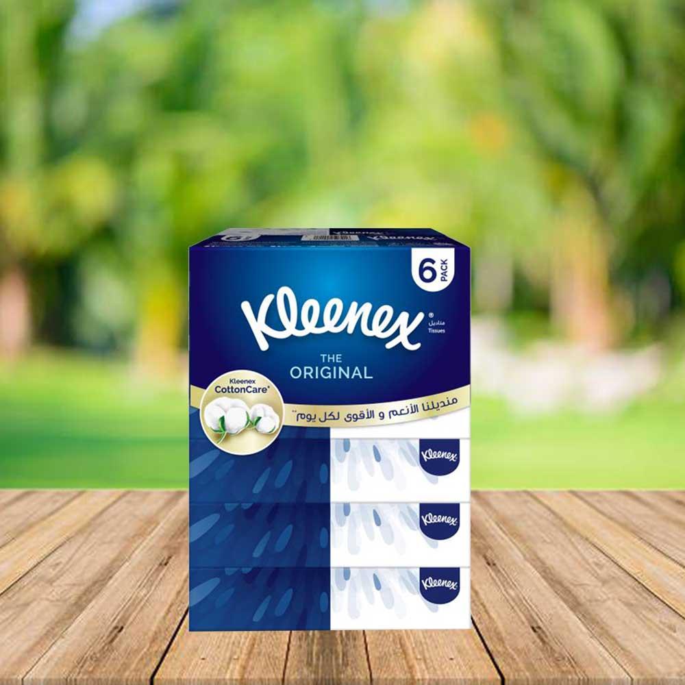 Kleenex Tissues 90 Tissue 6 Packs متجر 15 وأقل