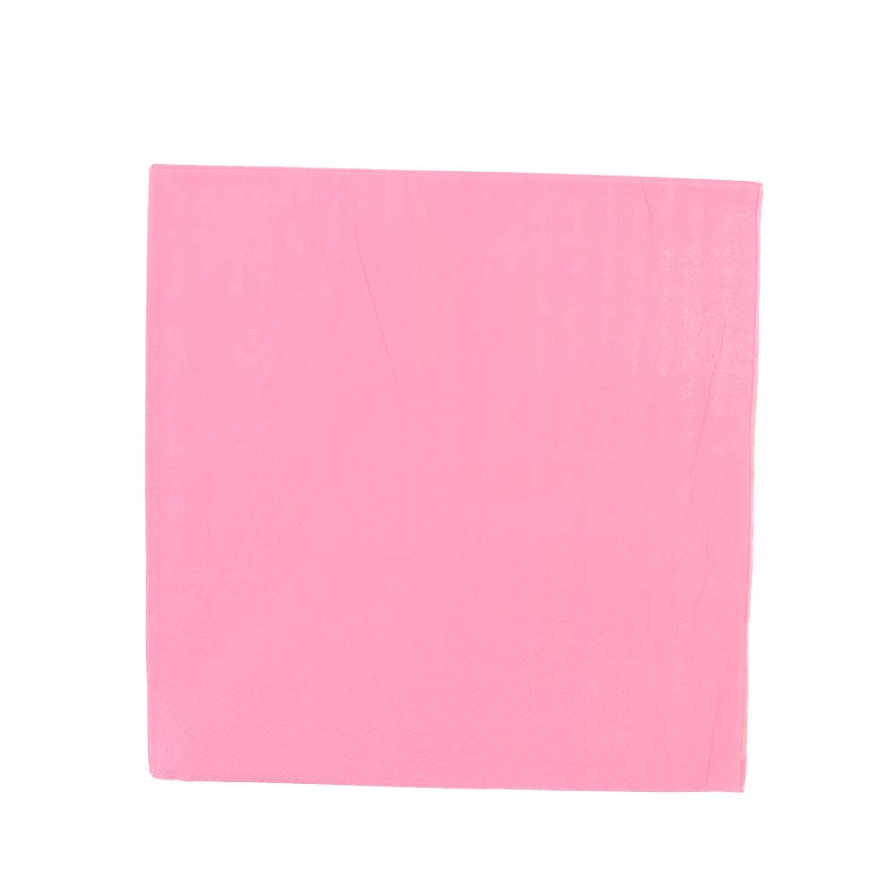 Square colored napkins plain to coordinate the table pink متجر 15 وأقل