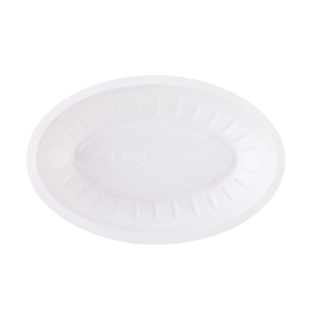 3P Disposable Oval Tray Size (1/2) - 50 Pcs متجر 15 وأقل