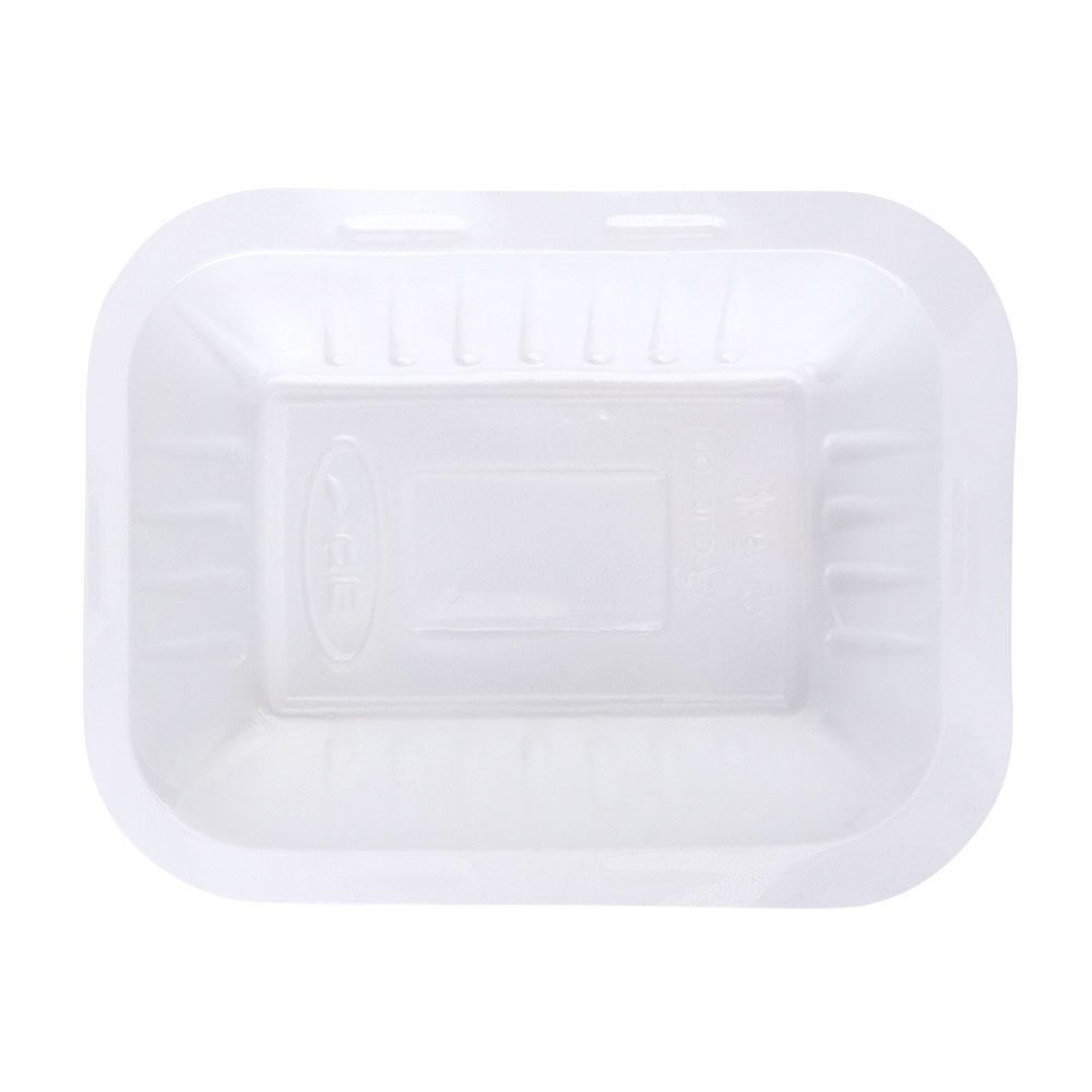 3P Disposable Rectangular Tray Size (1/2)- 50 Pcs متجر 15 وأقل