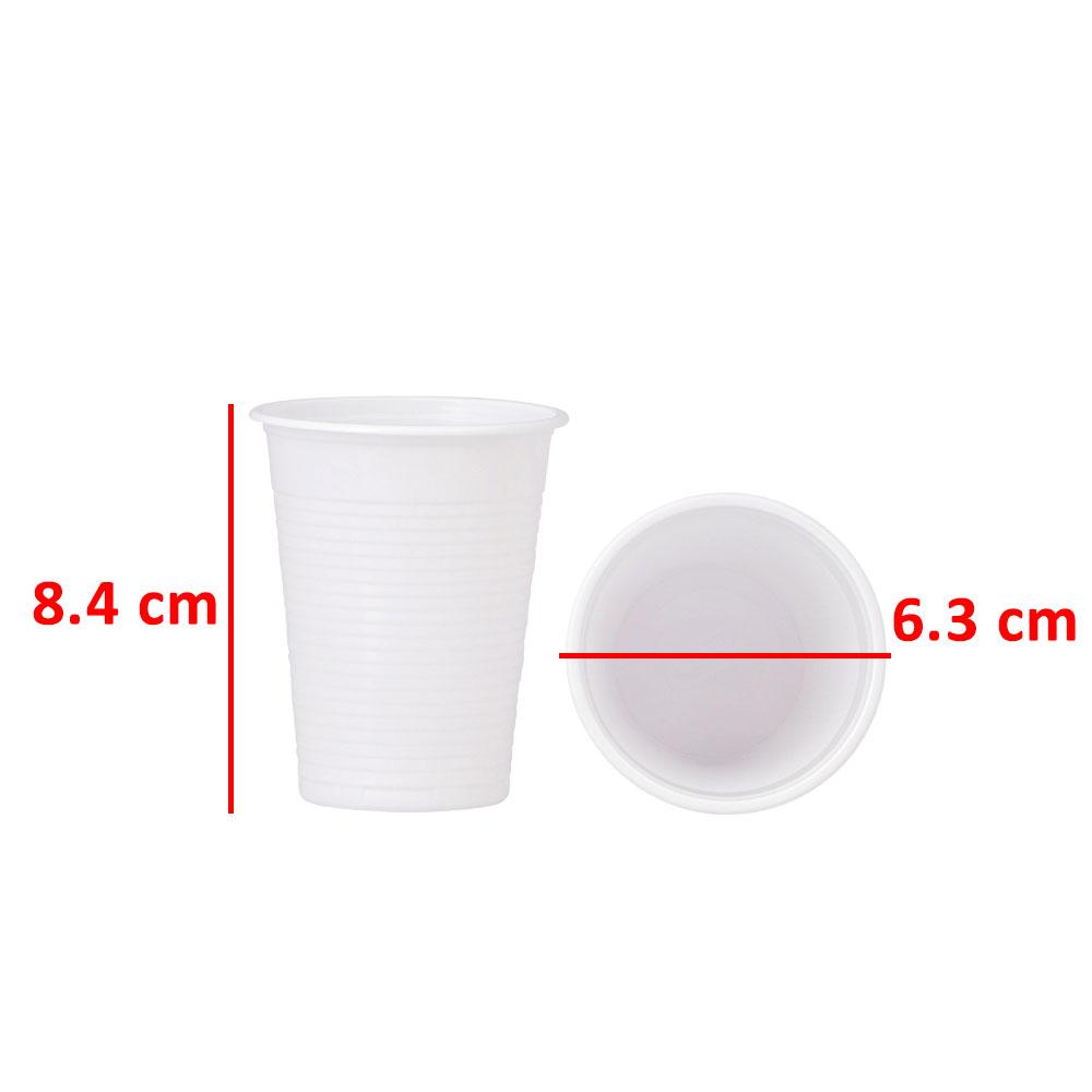 3P Disposable Cup Size 6 Oz - 50 Pcs متجر 15 وأقل