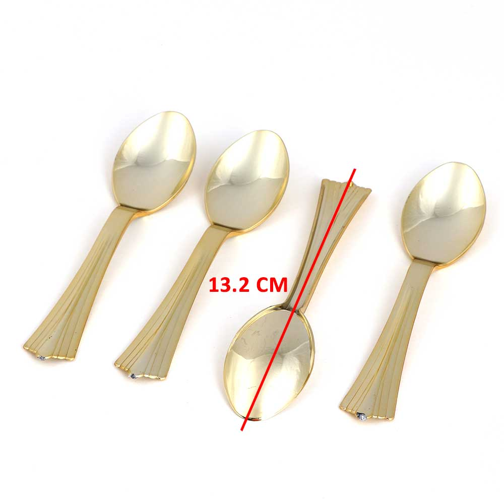 Small Spoon Set - Color Gold 20 Pieces متجر 15 وأقل
