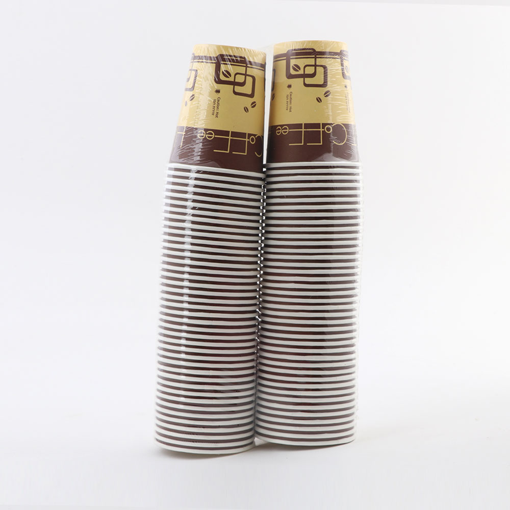 Paper coffee cups large 80 pieces 9 oz متجر 15 وأقل