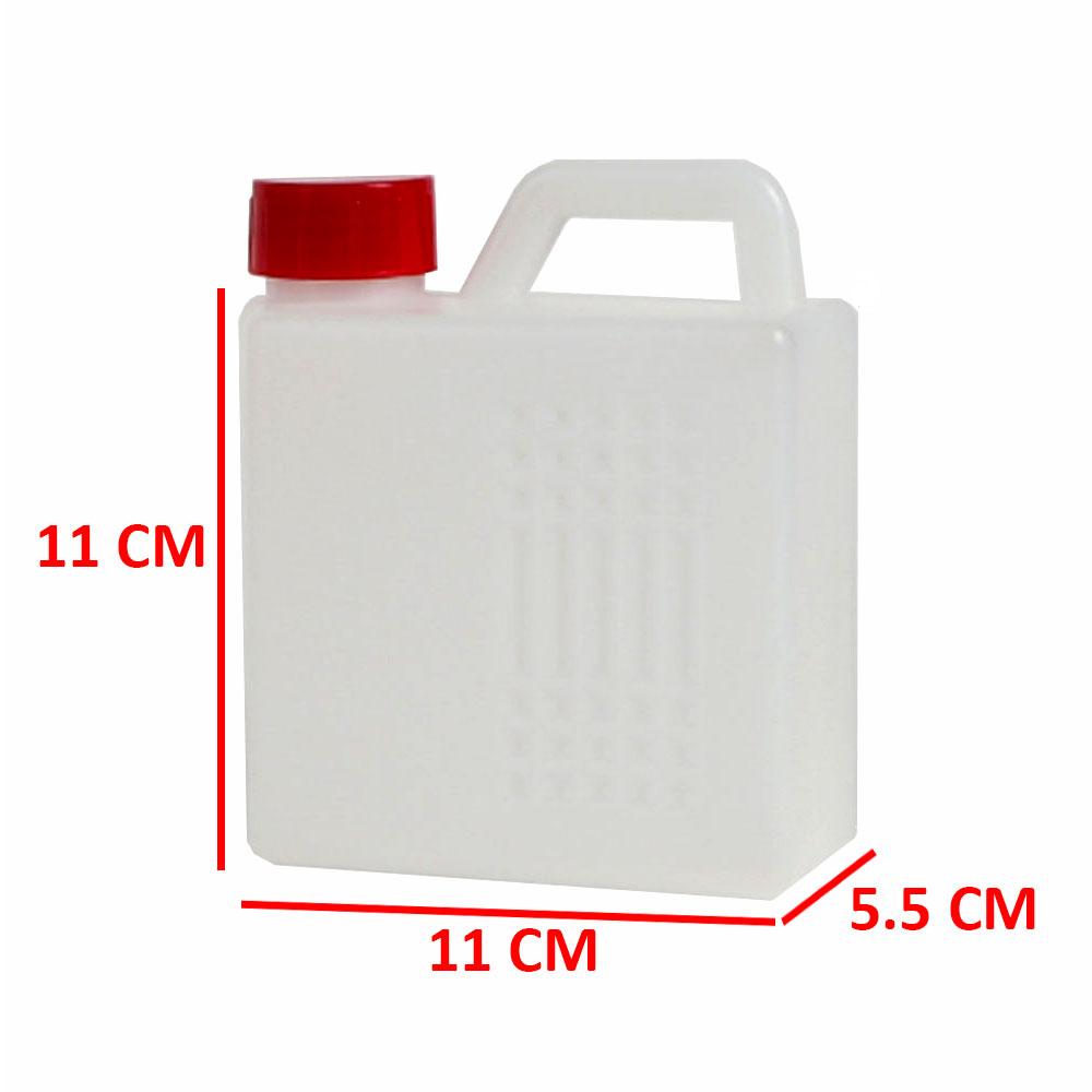 جالون بلاستيكي شفاف بغطاء 500 مل متجر 15 وأقل