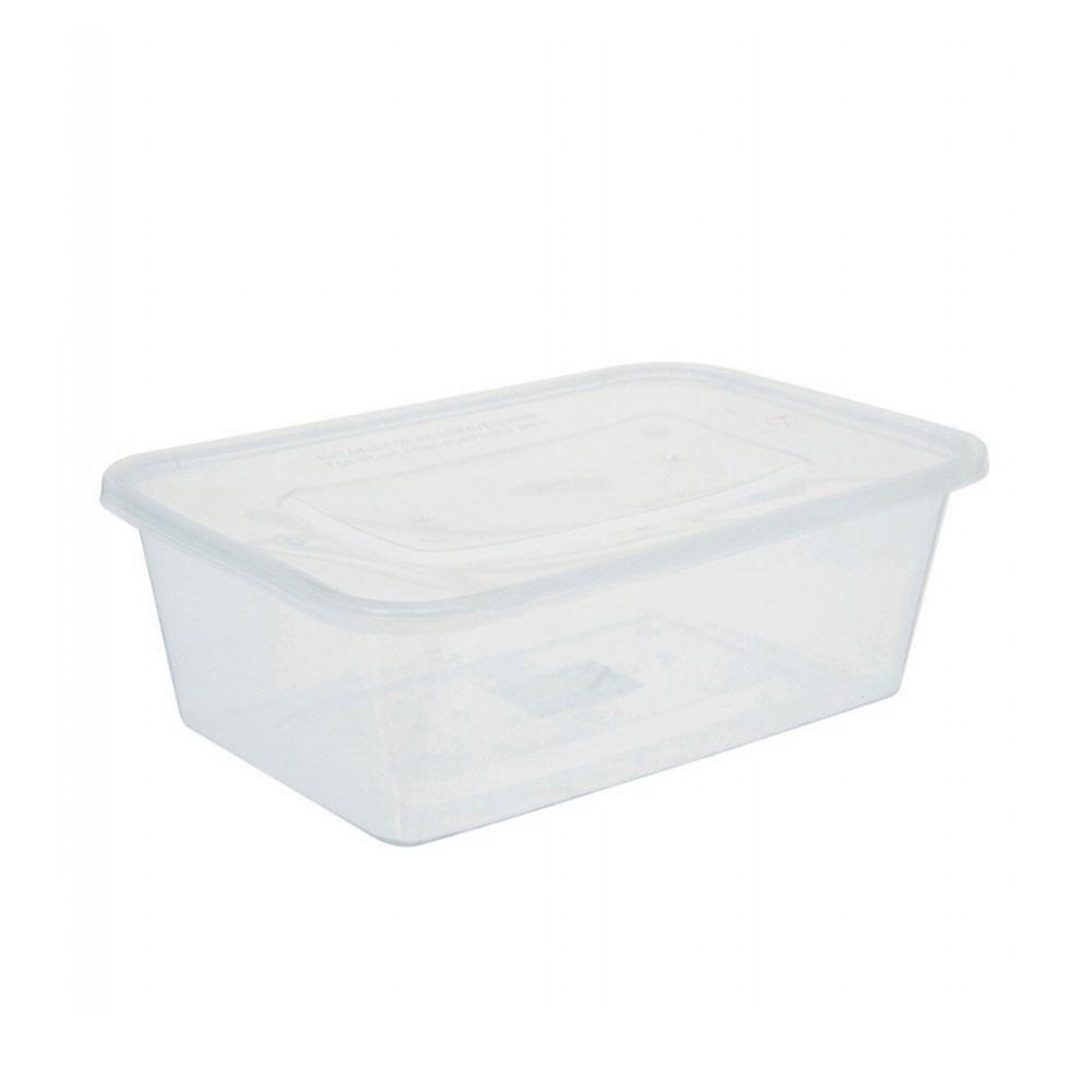 علياء علب بلاستيكية شفافة بغطاء الحجم الكبير 7 قطع 750 مل متجر 15 وأقل